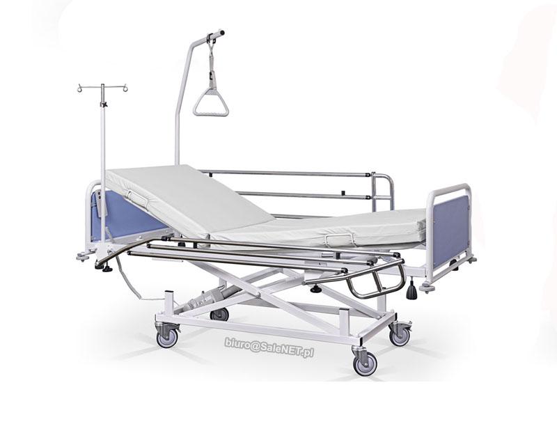łóżko Szpitalne Sterowane Pilotem Przewodowym